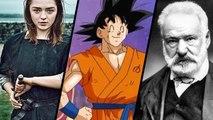 HORS-JEU : Game of Thrones saison 6, Dragon Ball Super, Victor Hugo et Vous êtes fous d'avaler ça