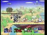 Hobo 29: Esca(MK/Marth)+Xyro(ROB) vs Doomsday(Luigi)+Kirby(G&W) 1&2
