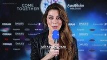 Ивета Мукучян - LoveWave  Вторая репетиция на конкурсе Евровидение - 2016