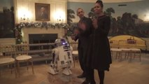 The Obamas Dance with Stormtroopers to Celebrate Star Wars Day