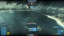 Battlefield 3: Bringing back BF2 memories on Wake Island MI-28 HAVOC footage (Gunner view).