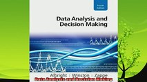 read here  Data Analysis and Decision Making