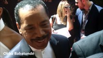 Obba Babatunde, Karla Mosley and Reign Edwards of The Bold and the Beautiful at 2016 Daytime Emmys