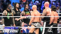 Roman Reigns and The Usos vs AJ Styles | Luke Gallows and Karl Anderson | WWE RAW 2 MAY 2016