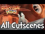 Happy Feet Two All Cutscenes | Game Movie (PS3, X360, Wii)