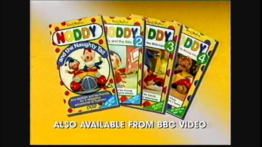 Start of Noddy Live VHS (Monday 31st October 1994)   Godialy.com