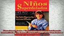 READ book  Ninos Superdotados  Highly Gifted Children La Inteligencia Reconciliada  The Reconciled Full EBook