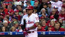 4-30-16 - Galvis and Phillies hold on to 4-3 win.