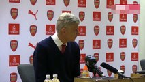 Arsene Wenger admits Arsenal fan protests created a 'strange atmosphere' at the Emirates.