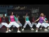 ZUMBA Tanz und Fitness in Schweinfurt auf dem Stadtfest