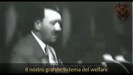 Adolf Hitler Parla Al Sussidio Invernale 1937