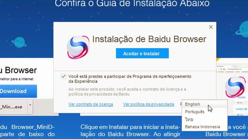 Como Baixar, Instalar e Configurar o Baidu Spark