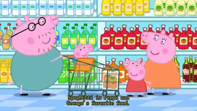 粉红小猪妹Peppa Pig 41 Shopping