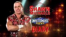 Shawn Michaels watches Undertaker vs HHH. Wrestlemania 27 Match