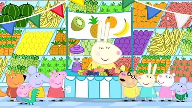 peppa pig in english full episodes 203 Fruit
