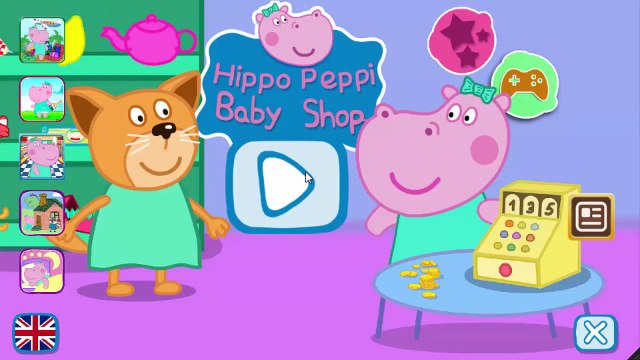 Peppa Pig English Shopping   Games For Kids   Gameplay Peppa Pig VickyCoolTV