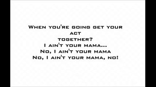 Jennifer Lopez - Ain't Your Mama (Lyrics) vevo vevo song vevo lyrics lyrics