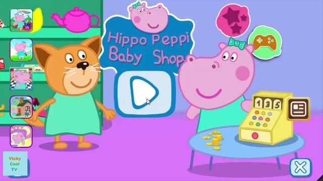 Peppa Pig En Francais Shopping | Jeux Pour Enfants | Jeux Peppa Pig VickyCoolTV