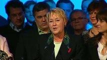 Discours de Pauline Marois en clôture du rassemblement du Parti Québécois à Québec