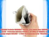 MUZZANO Pochette ORIGINALE Cocoon Gris souris pour SAMSUNG I9250 - Protection Antichoc ELEGANTE