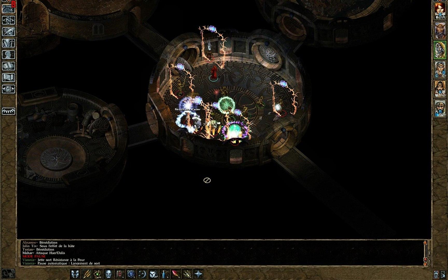 Let's Play Baldur's Gate Trilogy - BG2 - Ch3 - 416 - Les fanatiques de Ketlaar Argrim