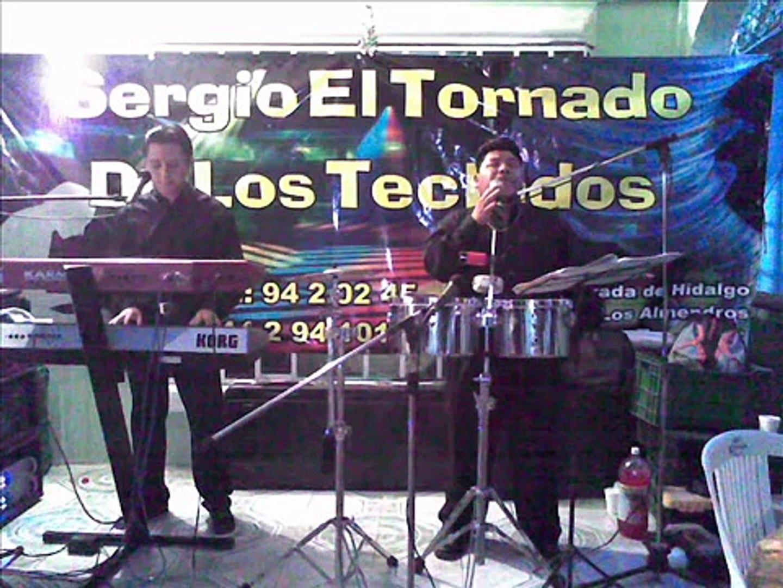 Sergio el Tornado de los Teclados tema del nuevo disco
