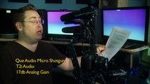 Shootout of the Mini Shotguns! RØDE VideoMic Pro VideoMic Sennheiser MKE400 Que Audio