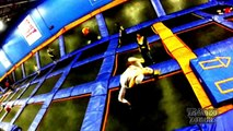 Sky Zone Extreme Sport Indoor Trampoline Park Gym Columbus OH 2013 GoPro Hero 3
