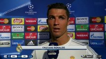 Cristiano Ronaldo Post-Match Interview - Real Madrid 1-0 Manchester City