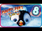 Happy Feet Two Walkthrough Part 8 (PS3, X360, Wii) ♫ Movie Game ♪ Level 17 - 18 - 19