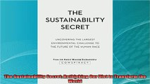 Rethinking Our Diet to Transform the World The Sustainability Secret
