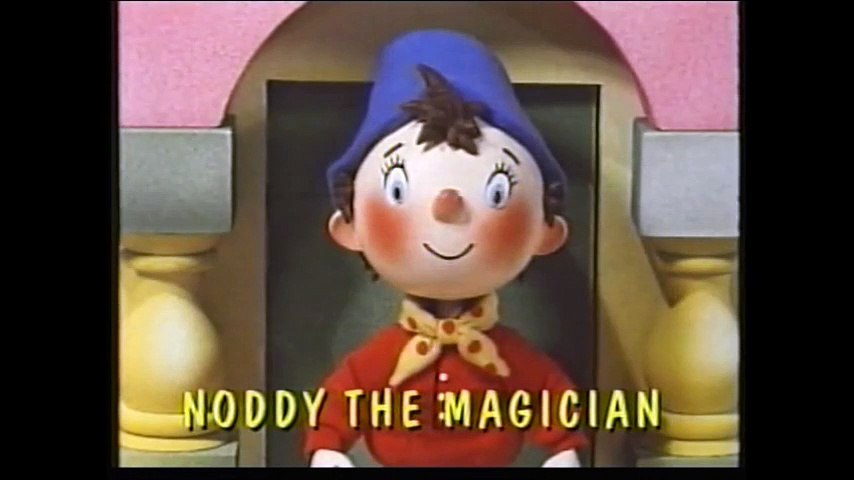 Start and End of Noddy the Magician VHS (Monday 7th October 1996) | Godialy.com