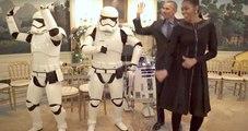Décomplexés, les Obama dansent avec les personnages de Star Wars sur un tube de Bruno Mars