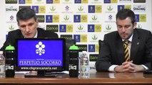 Rueda de prensa Velimir Perasovic - Valencia Basket (Jornada 26 Liga Endesa)
