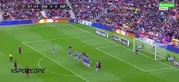 Messi'nin Espanyol'a attığı frikik golü