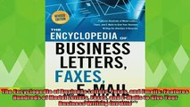 best book  The Encyclopedia of Business Letters Faxes and Emails Features Hundreds of Model Letters