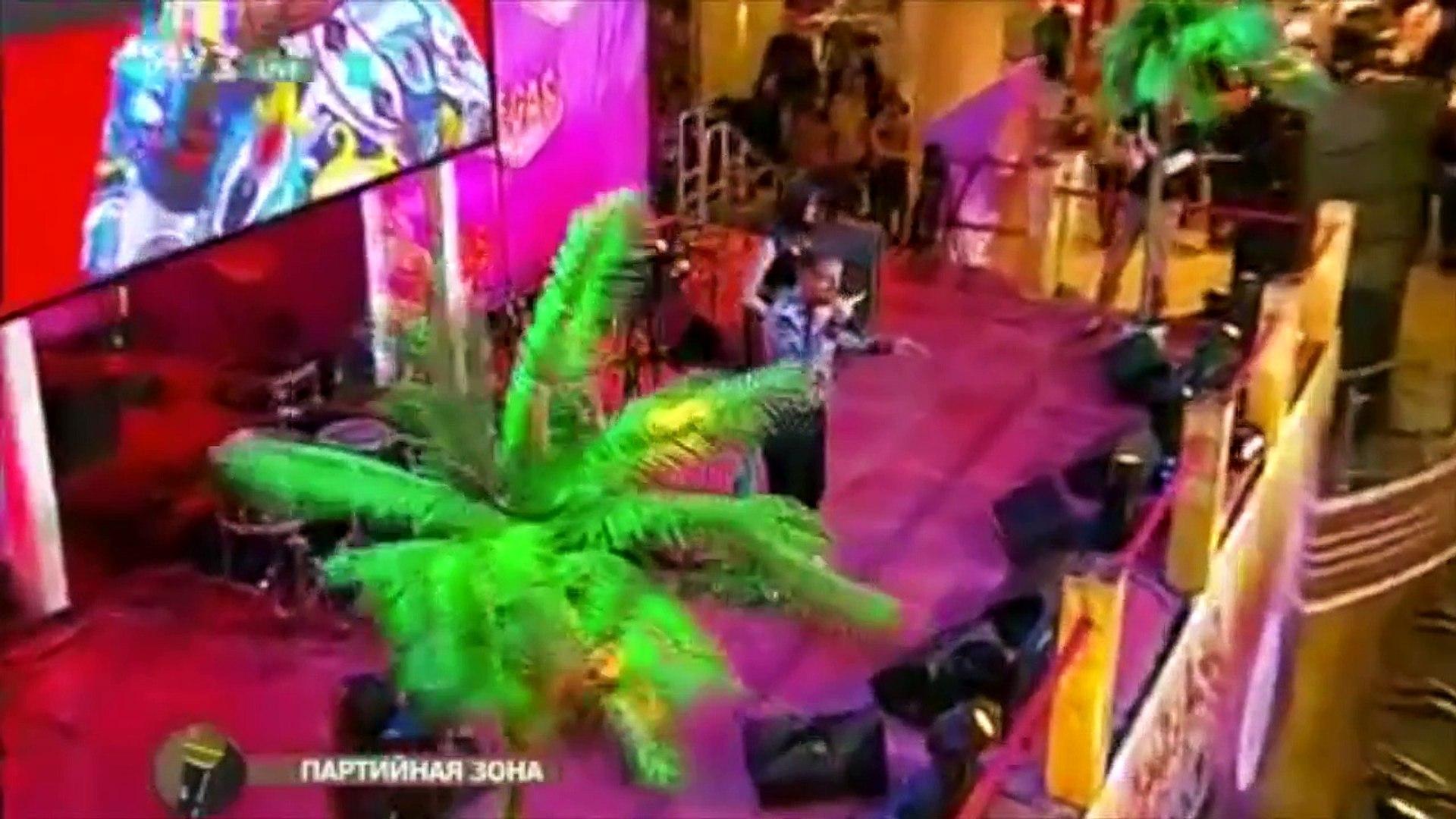 Caution Hot! dance project и Алекс Малиновский || Партийная Зона МУЗ ТВ || 22 февраля 2015