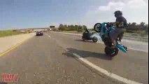 AMAZING Motorcycle DRIFTING Bike DRIFT GYMKHANA High Speed MOTO DRIFTER Suzuki GSXR 1000 DRIFTS 2015