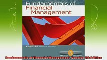 free pdf   Fundamentals of Financial Management Concise 7th Edition