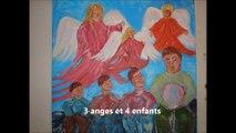 Rétrospective d'oeuvres picturales 2007 de Karyne L'Oiseau