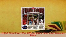 PDF  NCAA Final Four The Official 2001 Final Four Records Book Download Full Ebook
