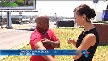 Motoris met byl aangeval / Motorist suffers axe attack