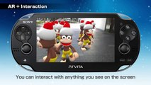 PS Vita - Markerless Augmented Reality