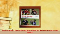 PDF  Tag Rugby Everything you need to know to play and coach Download Full Ebook