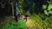 Elder Scrolls V  Skyrim Ninja Zombie Slayer ||Modded|| :