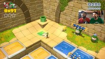 Wii U -  Super Mario 3D World : Collaborare da strupidi! [Gameplay Ita] # 14