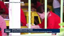 Philippines elections: firebrand Duterte favorite as Philippines holds presidential elections