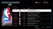 NBA 2K16 MY LEAGUE - PELICANS - EXTRA! EXTRA! TRADE TO NEW ORLEANS PELICANS! #NBA2K16 @RONNIE2K @LD2K