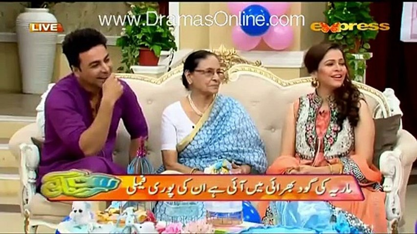 Sadia imam tell the story of marriage night what happened with her