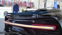 Découvrez le bruit du moteur de la Bugatti Chiron